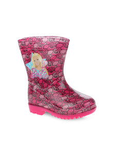 Zoom Barbie Rain Boots Pink