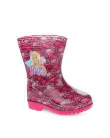 Zoom Barbie Rain Boots Pink