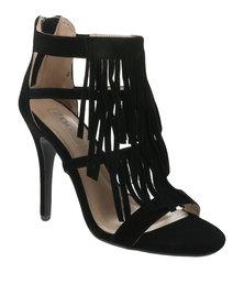 ZOOM Pippi Tassel Heels Black