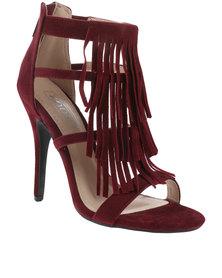 ZOOM Exclusive Pippi Tassel Heels Red