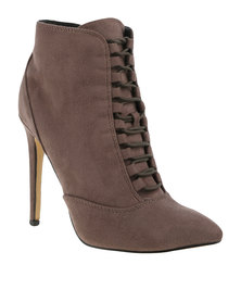 ZOOM Exclusive Gigi Ankle Boots Taupe