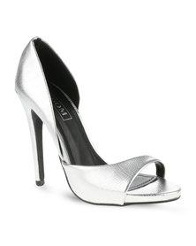 Zoom Perton Heels Silver