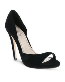 Zoom Perton Heels Black