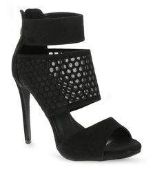 Zoom Sian Heels Black