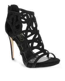 Zoom Perri Heels Black