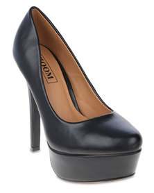 Zoom Salie Heeled Platforms Black