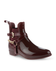Zoom Carla Ankle Boots Burgundy