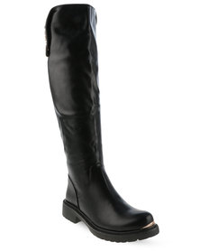 Zoom Welli Knee-High Boots Black