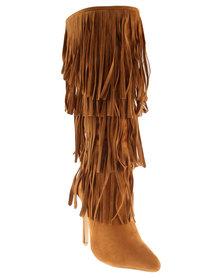 ZOOM Tanja Boots Brown