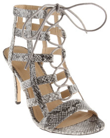 ZOOM Vicky Heeled Sandals Grey