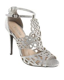 Zoom Princess Heels Silver