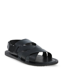 Zoom Kegan Crossover Sandals Black