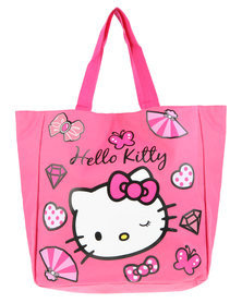 Zoom Hello Kitty Shopper Bag Pink