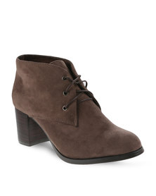 Zoom Bombom Boots Brown