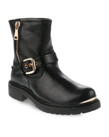 Zoom Skinny Boots Black