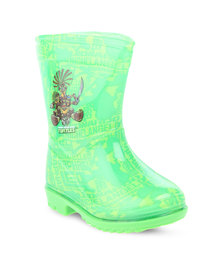 Zoom Ninja Turtles Rain Boots Green