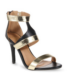 Zoom Deary Heeled Sandals Black