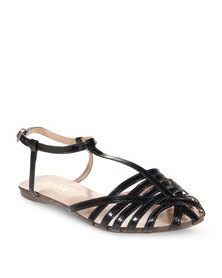 Zoom Phil Flat Sandal Black