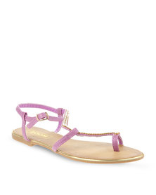 Zoom Any Sandals Purple
