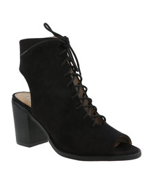 ZOOM Alex Lace-Up Heel Black