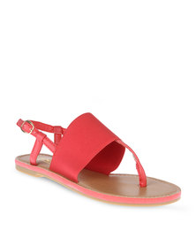 Zoom Nia Sandals Red