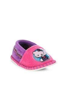 Zoom Hello Kitty Stokie Slippers Multi