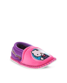 Zoom Hello Kitty Stokie Slippers Pink