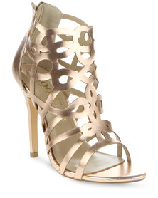 Zoom Kitty Heels Rose Gold