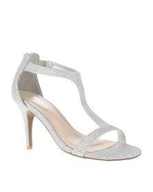 Zoom Divina Heels Silver