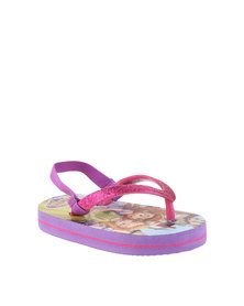ZOOM Sofia The First Flip Flops Pink