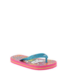ZOOM Hello Kitty Flip Flops Blue