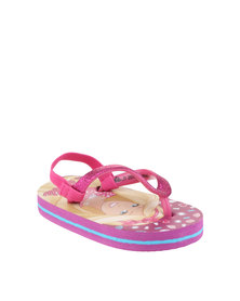 ZOOM Barbie Flip Flops Pink
