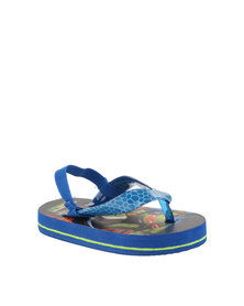 ZOOM Ninja Turtles Flip Flops Blue