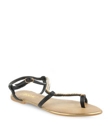Zoom Any Sandals Black
