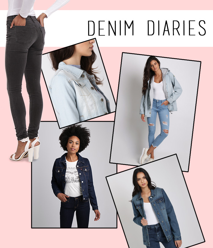 How To Wear Your Denim Jacket in Summer