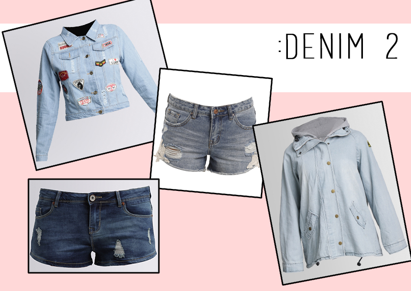 0c15ed8ce930 It s the summer take on the canadian tuxedo (denim bottom and top) where  you team your denim jacket with your favourite pair of denim shorts.