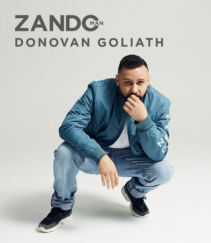 Get to know Donovan Goliath | ZandoMAN