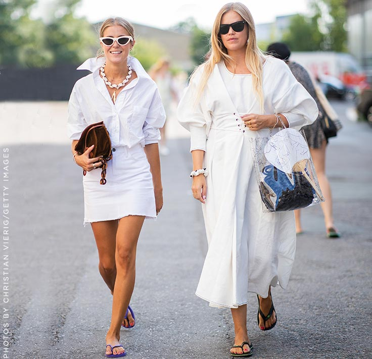 Trend Talks ─ Dresses with Flip Flops