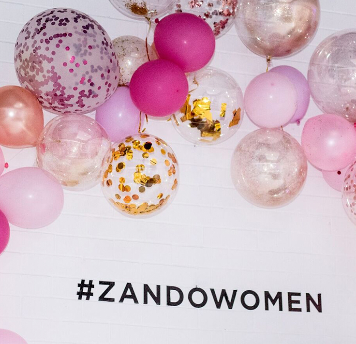 #ZandoWomen celebrate Women's Day in Johannesburg