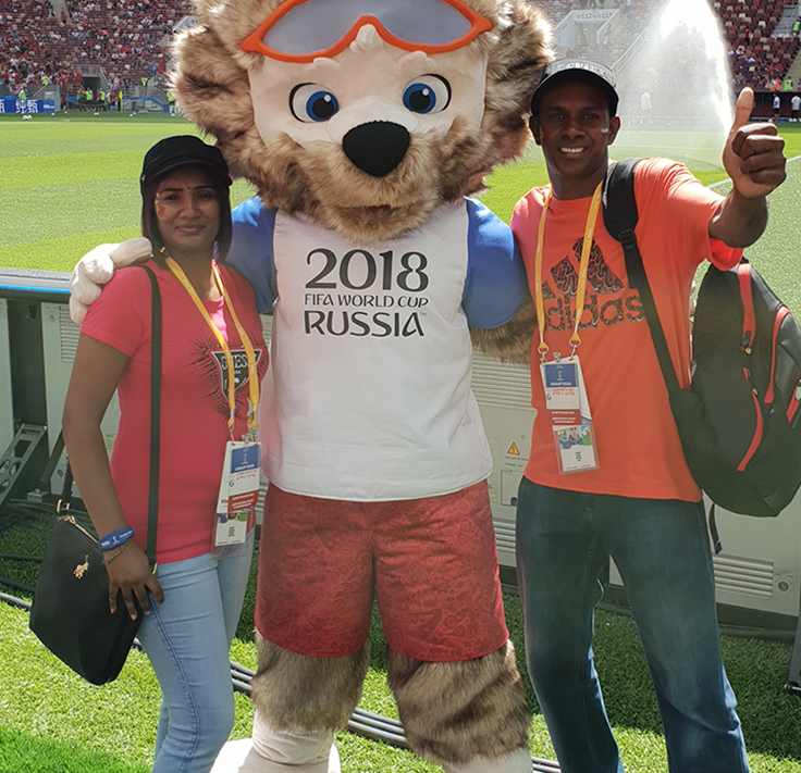 FIFA World Cup 2018 Experience by Zando Winner!