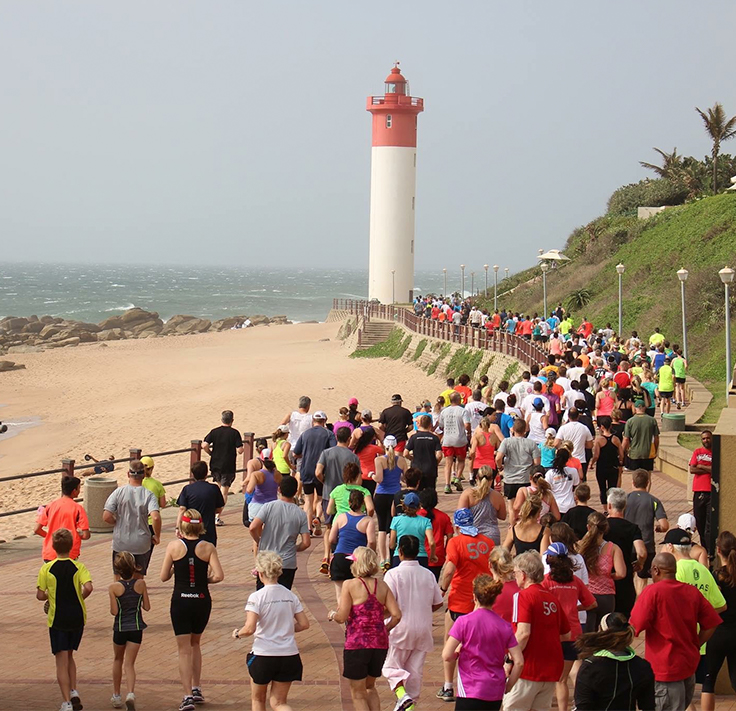 Attending a Parkrun in South Africa