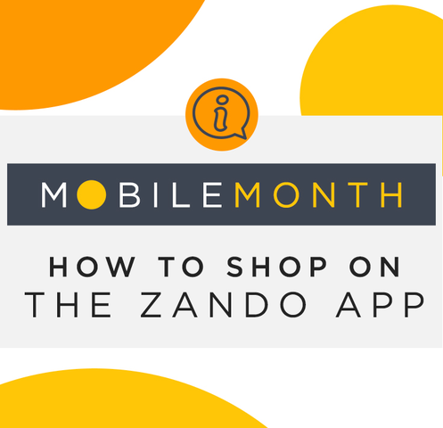 How to Shop the Zando Mobile App