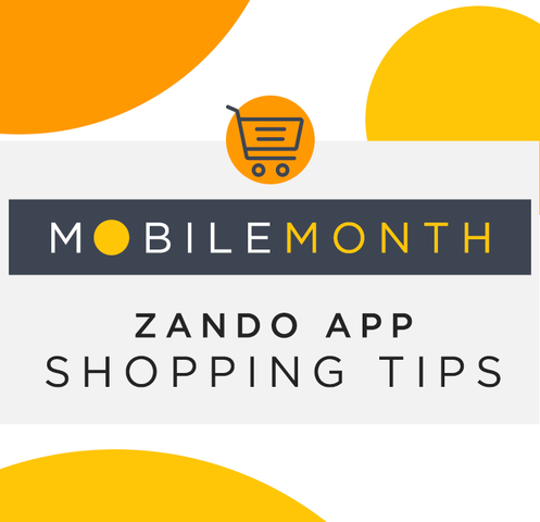Zando Mobile Shopping App Tips