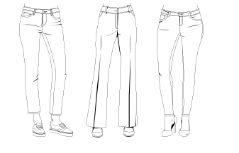 Denim Fit Guide Women
