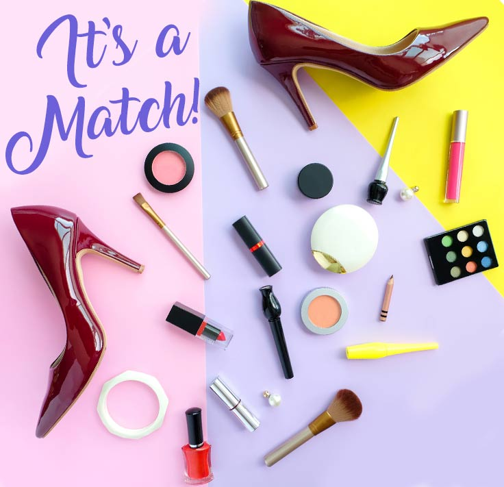It's a match! - A how to guide to matching your heels with your makeup