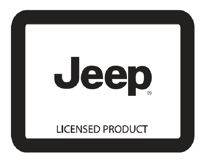 Jeep Licensed Product