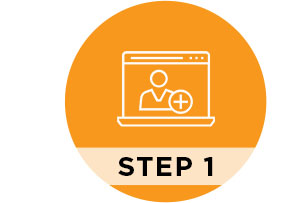 Step 1 Register