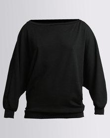 N'Joy 3 Ways To Wear Top Black