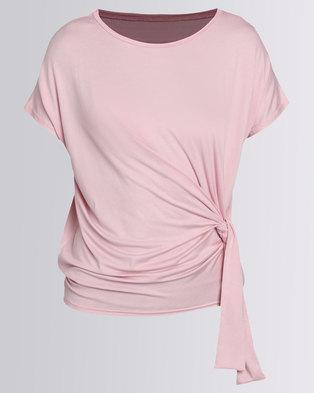 N'Joy Side Tie Top Soft Pink