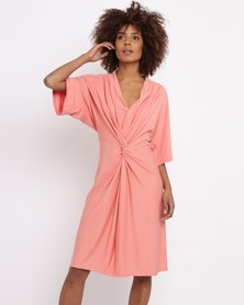 Nucleus Whatever Dress Coral